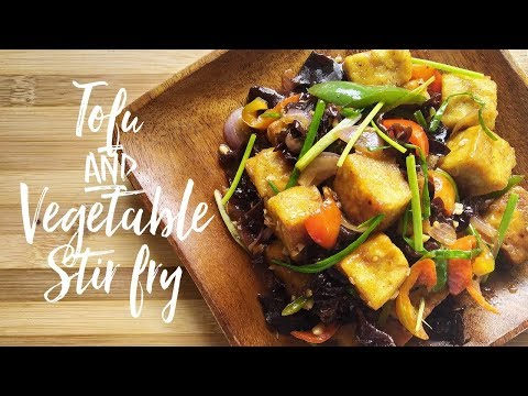 Tofu and Vegetable Stir Fry Recipe