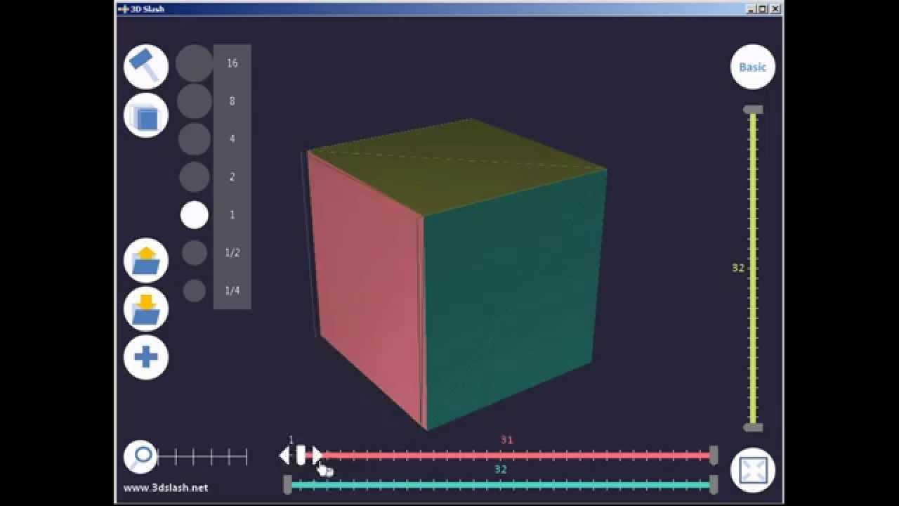 3D Slash : Tutorial : basic functions