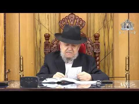 """מרן הרב מאיר מאזוז שיעור מוצ""""ש במדבר תשע""""ט"""