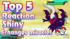 5 MEILLEURS RÉACTIONS DE POKEMON SHINY PAR ÉCHANGES MIRACLES !!!
