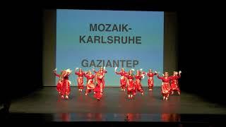 Mozaik Karlsruhe - Gaziantep - ATHOB - Avrupa Türk Halk Danslari Yarismasi 2017