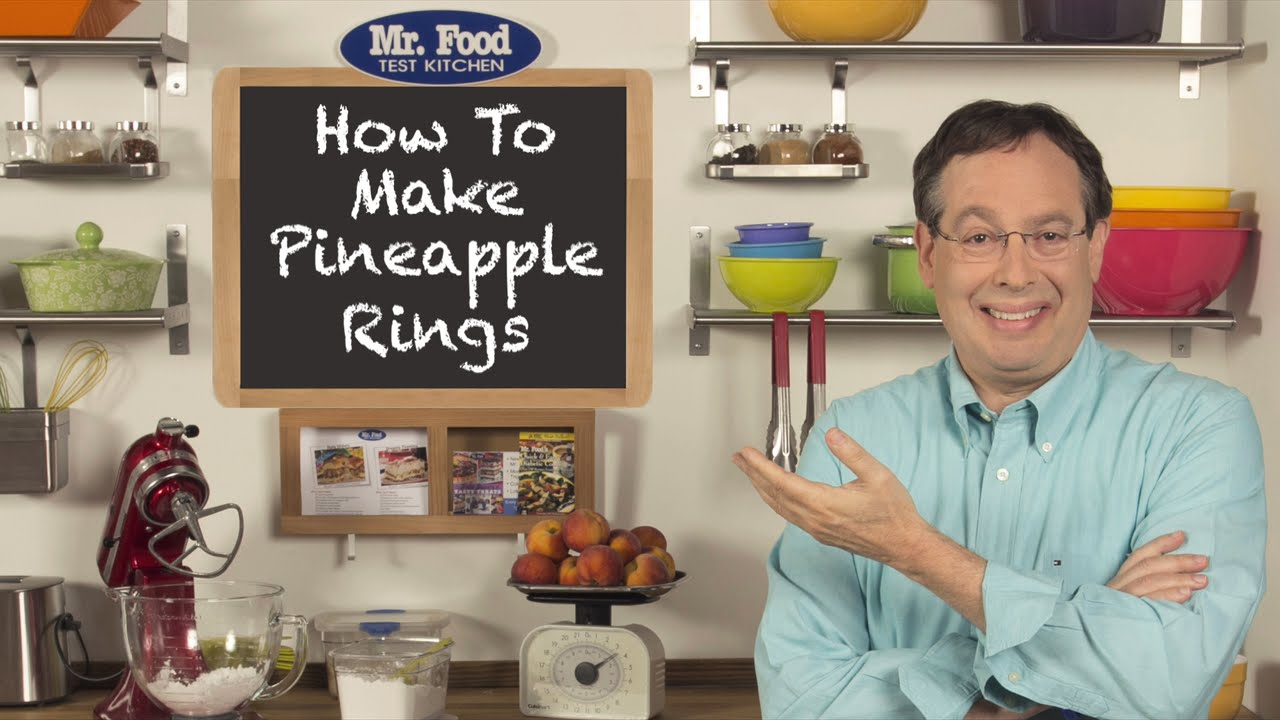 How To Make Pineapple Rings