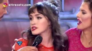 Candela Vetrano se la jugó por su amiga María del Cerro en la salsa de a tres