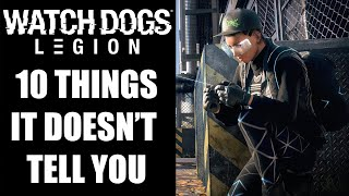 10 Beginners Tips And Tricks Watch Dogs Legion Doesn't Tell You