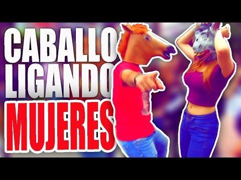 LIGANDO MUJERES | CHICAS GUAPAS | CABALLO...
