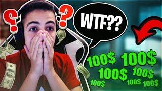 יוסי תרם לי *700 דולר* בשידור חיי של פורטנייט😱!!