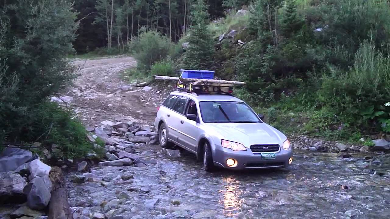stream crossing in an outback youtube