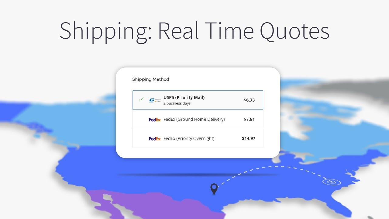 Real Time Quotes | Shipping Real Time Quotes Bigcommerce Tutorials Youtube
