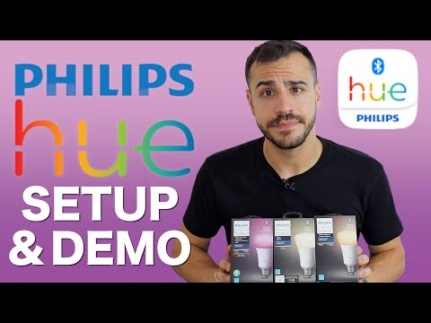 New Bluetooth Philips Hue Lights -  Setup and Demo