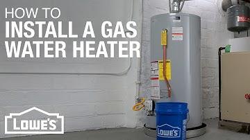 Gas Water Heater Installation