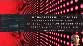 Monportefeuille digital : analyse Bitcoin et Ethereum du 04.03.2020, données on chain et sentiment !