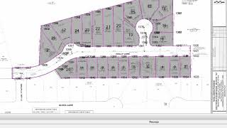 Cadastral - Label Parcels and Map Check Report in TBC v4.10