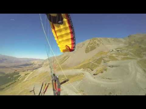 Paragliding accident