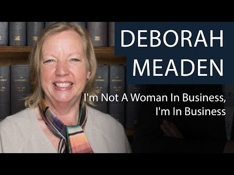 Deborah Meaden   I'm Not A Woman In Business, I'm In Business   Oxford Union