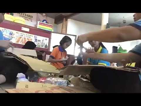 SMK Pujut, Champion of 2018 Miri sarawak recycle replica competition