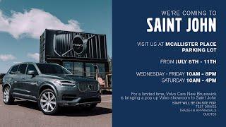 Volvo Cars New Brunswick   Saint John Popup Event July 2020