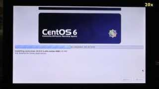 How to install CentOS 6.3 on an Asus Eee PC 900HD netbook