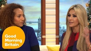 Good Morning Britain asks whether or not using celebrities in chari...