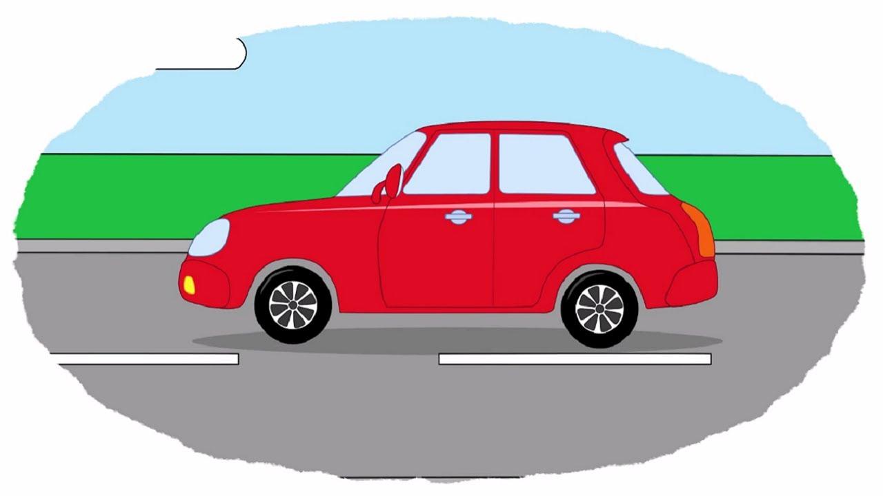 Мультик - Раскраска. Учим Цвета - Мультфильмы про машинки - Все легковые  автомобили - YouTube 86e4756faa5