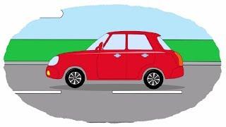 Мультик - Раскраска. Учим Цвета - Мультфильмы про машинки - Все легковые автомобили(Развивающие мультики