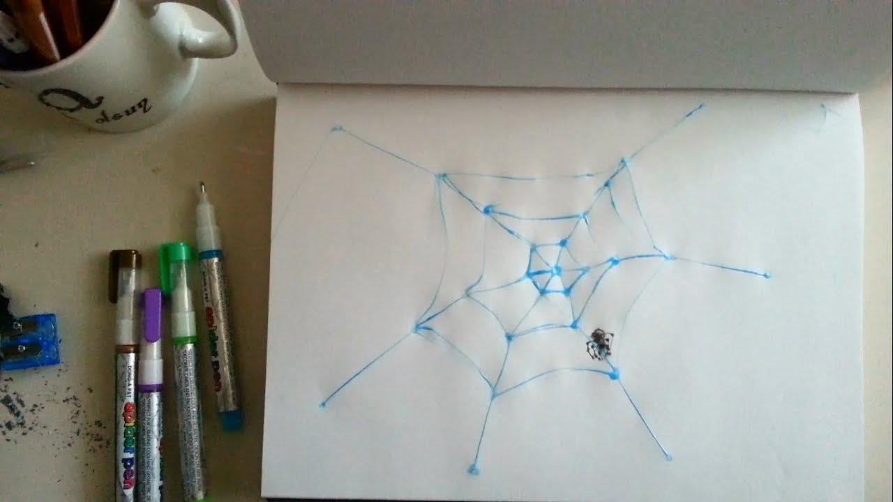 Orumcek Agi Cizimleri Spider Pen Sanatin Renkleri Spiderman