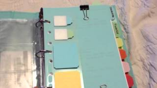 Martha Stewart home office binder
