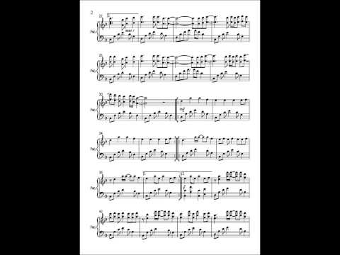 In The End - Linkin Park - Piano Cover (Sheet Music)