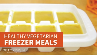 Easy Vegetarian Freezer Meals