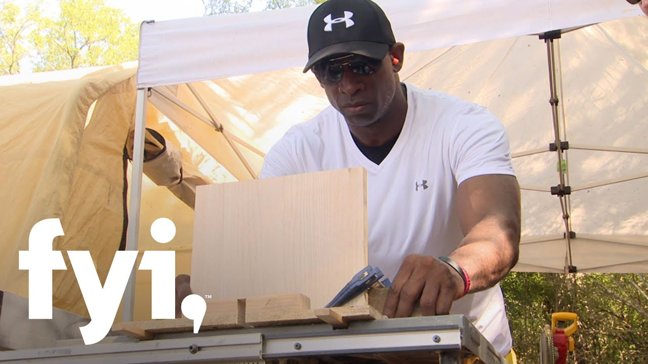tiny house nation: deion sanders' surprise for tracy (bonus