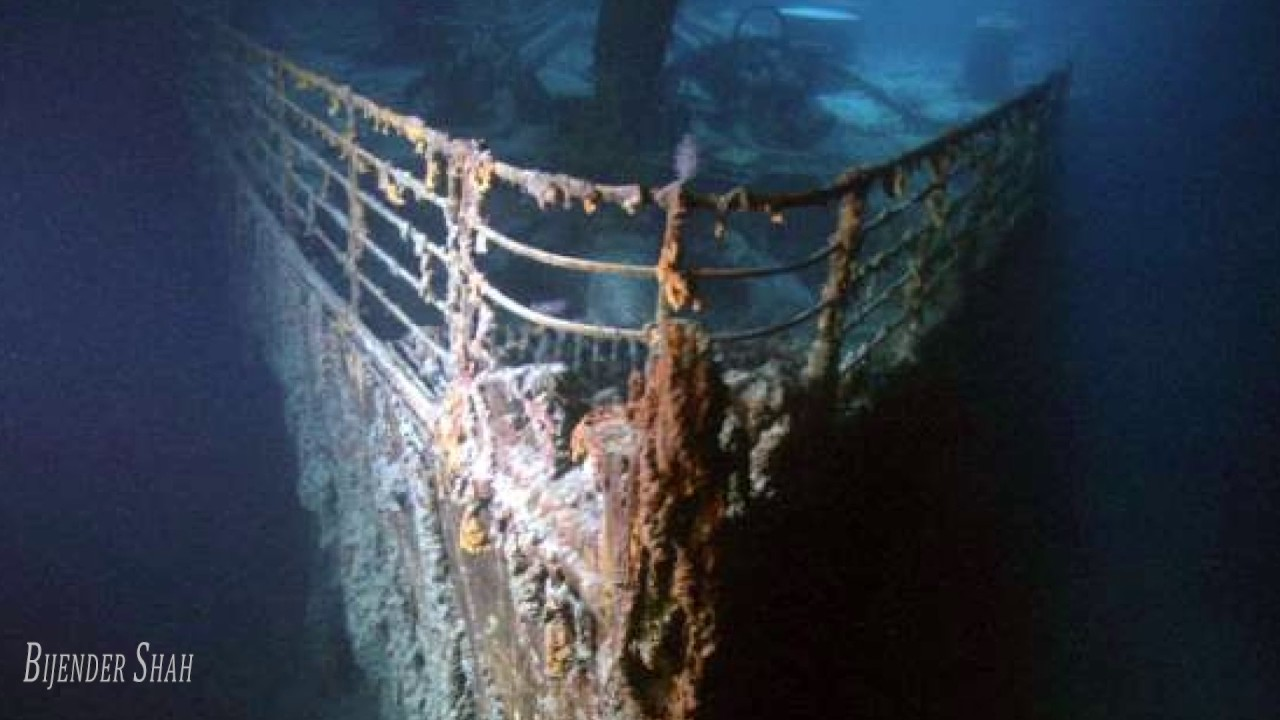Titanic underwater Real Images 26 3 2017 - YouTube
