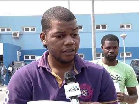 Autores de mais de quinze roubos qualificados apresentados pela Policia Luanda   TV Zimbo  