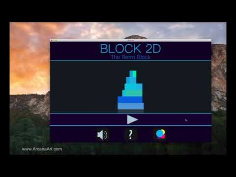 Block 2D - The Retro Block v 2.0 OS X / macOS