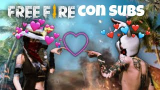 free fire con subs