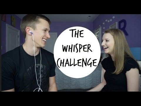 Whisper Challenge With My Boyfriend!!!