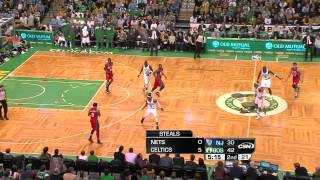 Celtics zone pressure → personal half-court defense (16-1 Celtics run)