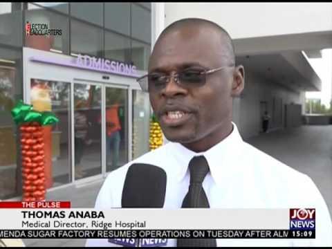 Greater Accra Regional Hospital - The Pulse on Joy News (30-11-16)