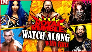 WWE Royal Rumble 2021 Watch Along party with WWE Fans Royal Rumble 2021 Live reactions