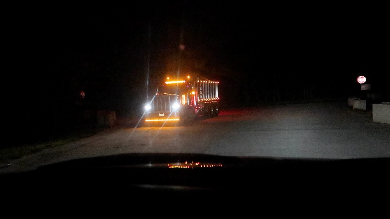 this is where the trucks go on clinton road    (we followed them further,  they caught us)