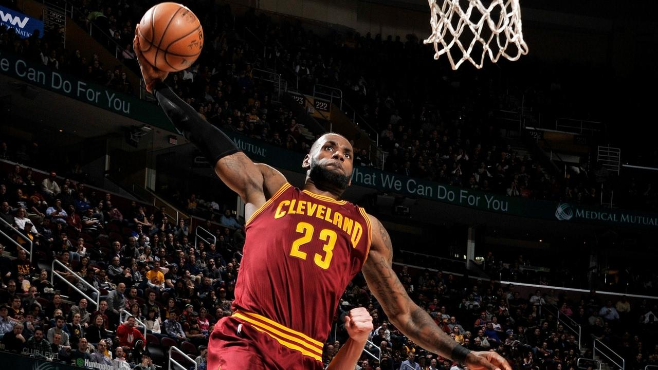lebron james basketball