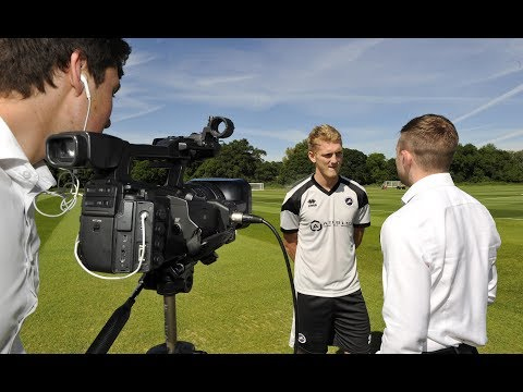 New recruit George Saville gives his first interview as a Lion.