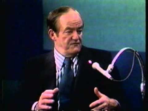 Johnny Morris interviews Hubert H. Humphrey #3
