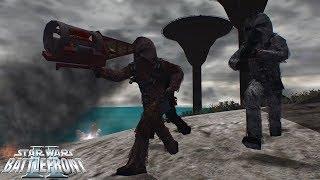 Star Wars Battlefront 2 Mod   Pax Empiricae   Kashyyyk: 501st vs Wookies