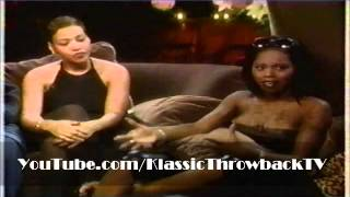 Interview: Mary J. Blige, Foxy Brown, Missy Elliott, Salt (1998) - Part 1