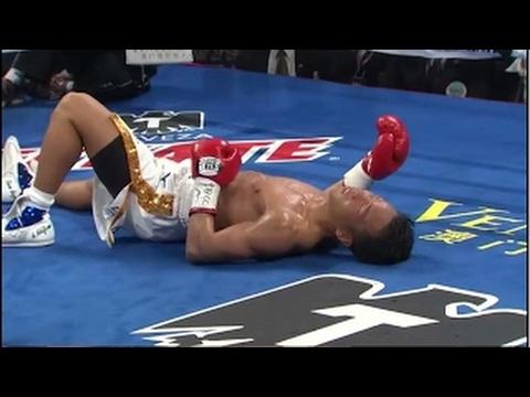 Marvin Sonsona vs Akifumi Shimoda | WBO International Featherweight title (KO RD 3)