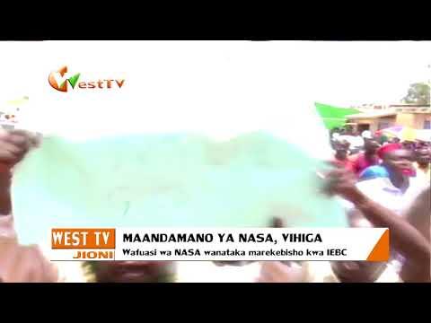 Maandamano ya NASA, Busia