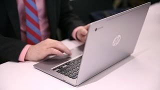 An upscale new Chromebook from HP