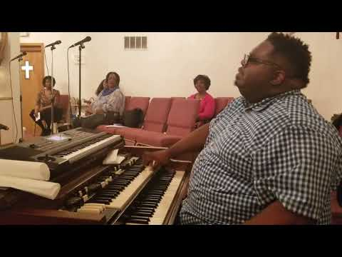 Elder Edgar Johnson Jr. organ tribute (James Cleveland medley) (5/18/18)