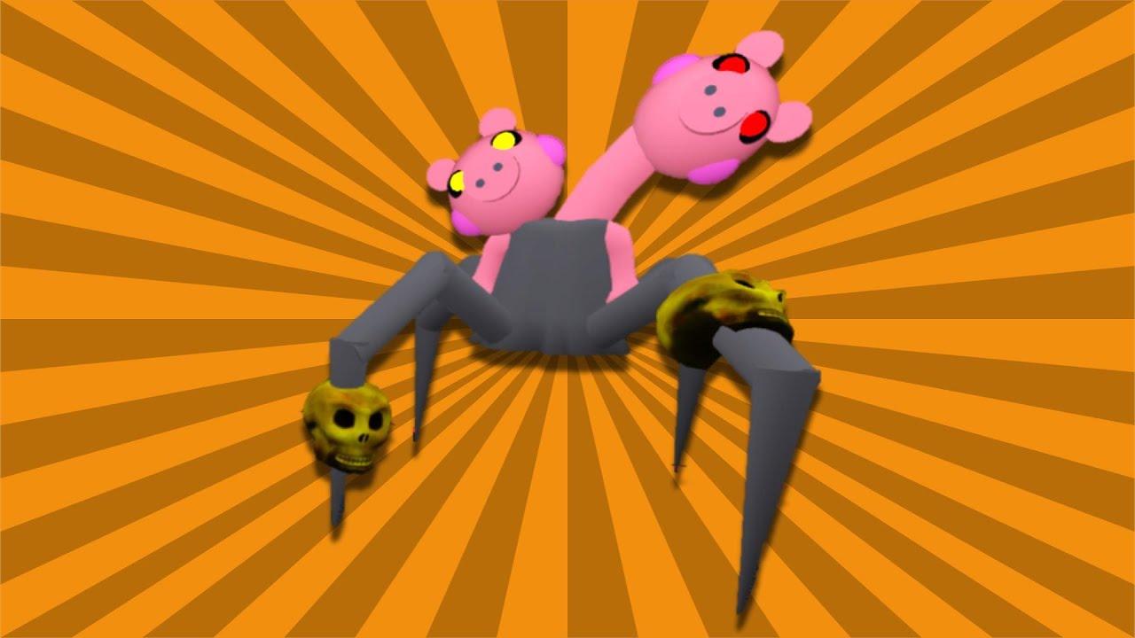 Spider Piggy Boss Showcase Movement Kill Animation Piggy