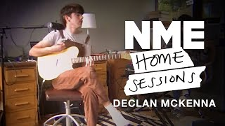 Declan McKenna - 'Twice Your Size' and 'Rapture' | NME Home Sessions