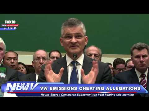 FNN: VW's US CEO apologizes for emissions rigging scandal